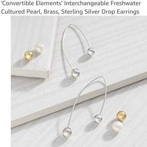 NIB Silpada Sterling silver earrings